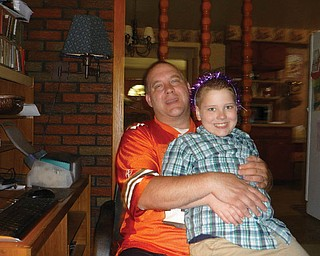John Cottrell, 42, and Christopher, 7, of Boardman.