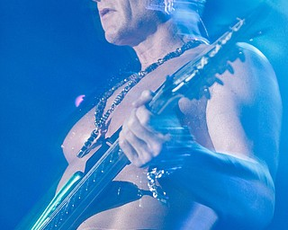Phil Collen of Def Leppard performs live at Post Gazette Pavilion in Burgettstown, PA. The venue included Cheap Trick and Poison, Friday, July 10, 2009  Lisa-Ann Ishihara