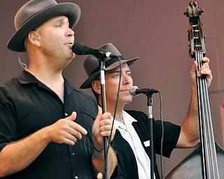 Scotty Morris and Dirk Shumaker of Big Bad Voodoo Daddy