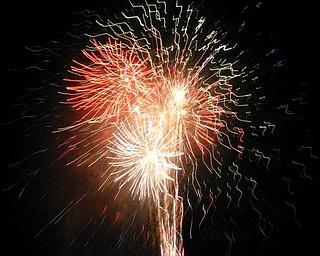 Fireworks at Celebrate Poland Independence Day Celebration in June, taken by David Windsor.