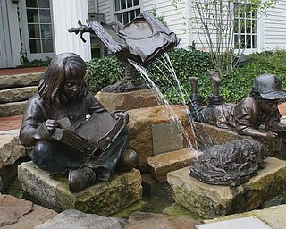 'Fountain of knowledge' by artist Tom Antonishak