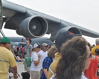 Youngstown Air Show, Sunday, August 9, 2009.