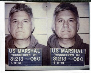 Jim Traficant's mug shot dated May, 11, 2001.
