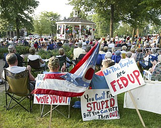 Tea Party, Canfield Green Friday August 14, 2009