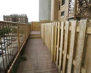 The Vindicator/Robert K. Yosay -----The deck area heading to one of the decks facing east - 