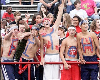 FITCH - CHANEY - Fitch fans during their game Friday night. - Special to The Vindicator/Nick Mays