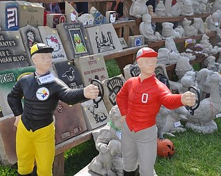 Wares for sale at the Canfield Fair.