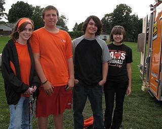 McDonald at Mineral Ridge Blitz Tailgate Party. Sept. 11, 2009.