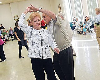 Mary and Dante Giancola of Youngstown dance to Jack Vasko Orchestra St. Anne during the  the festivities at St. Anne Ukrainian Byzantine Catholic Church Sunday September 27,  2009