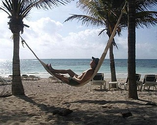 Tim Anderson of Austintown is hanging out at the Grand Palladium in Riviera Maya.
