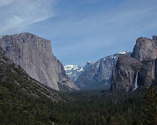 Yosemite Valley, Calif., taken by Dan Shields of Canfield while visiting national parks and forests.