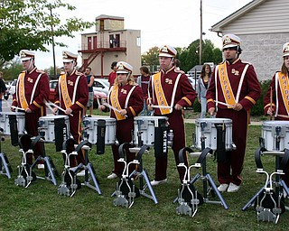 """The South Range Drumline won the Drum-Off at the Blitz tailgate party!"""