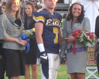 This was united's 2009 homecoming king and queen...Football player Zack Taylor, and homecoming queen..