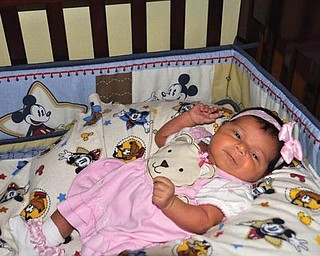Kayleigh Cruz was born Oct. 23. The proud parents are Victor and Krissy Cruz of Campbell.