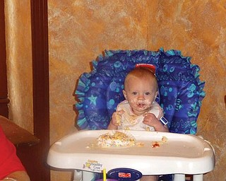 Cara Joan Castor, daughter of Roberta and Gary Castor of Struthers, celebrated her first birthday this year.