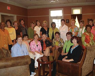 The Warriorettes, a group of women who graduated from South High School in 1964, started meeting for monthly luncheons in 2008. On Aug. 1 this year they celebrated the first anniversary of those lunchesons. They are: first row, from left,: Betty Boyd Lucas, Voula Kozionis Forosty, Monique Baroe, Karla Stowe Sexton, Judy Dugan Berg, Pat Bannon Sprague and Marlene Maurer Dailey, and back row, Edna Pasley Bolden, Joyce Linker Pannunzio, Diane White Whitehouse, Janet Barger Peterson, Karen Miller Minehart, Diane Murray Libb, Judi Nussbaumer Hanna, Lois Tillman Clark, Judy Goddard Armeni, Barb Leonard Smith, Kathy Will Bode, Betty Bigley McKendry, Sherry Winkler Veauthier and Karen Major Smith.