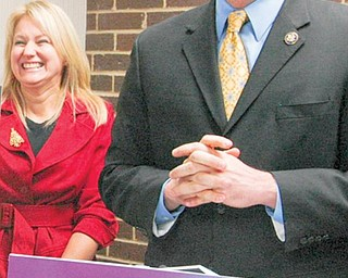 U.S. Rep. Tim Ryan at a name unveiling in Warren on Monday. It was announced Monday the facility would be named after the Lloyd McCoy Jr., who was shot and killed earlier this year.