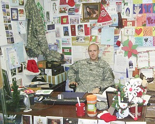 Merry Christmas from Afghanistan!   Tom Hardy Captain, US Army