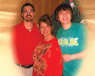 Adam, Wanda and Zach Sabol of Lake Milton (Craig Beach).