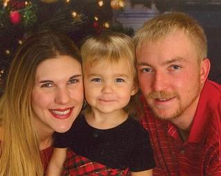 From left, Danielle Voytko Jourdan and Jocelyn and Marty Jourdan of Boardman.
