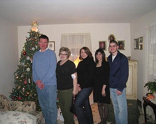 These cousins, all originally from Hubbard, are: Jonathan Featsent, Willowick; Lisa Lodwick, Youngstown; Marie Perry, Twinsburg; Andrea Ball, North Royalton; and John Modak, Hubbard.