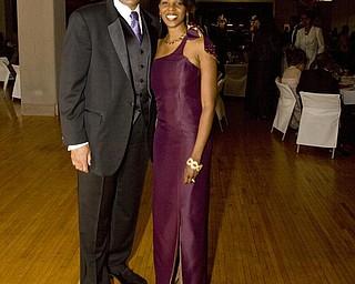 The Vindicator/Lisa-Ann Ishihara --- Mayor Jay Williams with his with Sonja at Stambaugh Auditorium for the annual Mayor's Community Celebration