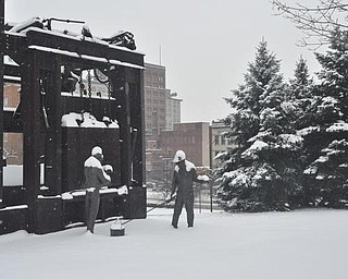 The Youngstown Historical Center of Industry & Labor, Friday, January 8, 2009.