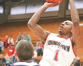 A-MAYS-ING: YSU senior guard DeAndre Mays was named Horizon League player of the week after leading the Penguins to two conference victories last week.