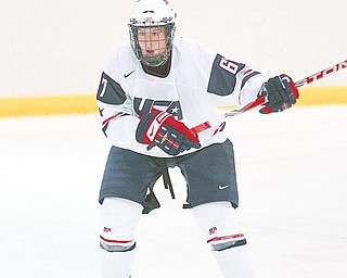THE BOYS ARE BACK IN TOWN: Team USA features two players with ties to the Mahoning Valley. Playing for the Nationals is East Palestine native J.T. Miller. Saad was the NAHL Rookie of the Year last season while Miller was a member of the team that won the U-17 championship two weeks ago in Canada.