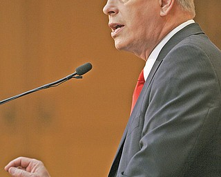 Ohio Gov. Ted Strickland delivered the State of the State address Tuesday to a joint session of the Ohio General Assembly.