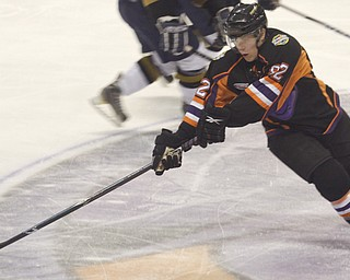 Youngstown Phantoms vs Sioux Falls Stampede at Covelli Centre, Friday January 29, 2010