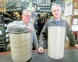 """Jack Frank, left, and Gary Frank run Frank's Auto Parts, 1014 South Ave., and rely on the neighborhood they have served for 40 years. """"The neighborhood watches out for each other,"""" Gary said. """"And they watch out for our business because they're our friends."""""""
