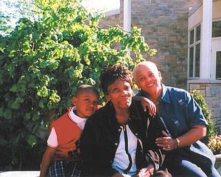 Sally Goler, center, is with her grandson, Christian Jade Warren, and her daughter, Mary Goler of Warren.