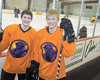 New Youngstown Phantoms Dylan Margonari and Ty Loney