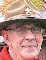 Scout leader John Wolboldt