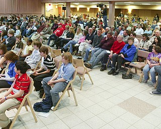 ROBERT K. YOSAY | THE VINDICATOR.. in the 2010 -77th Vindicator Spelling Bee was held  at the Chestnut Room at Kilcawley Center at YSU - 30-