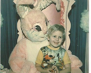 This picture of Todd Hodge, son of Ron and Cathy Hinderliter of Canfield, was taken in 1979...