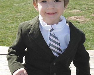 Thomas Hull was dressed in his Easter best in this 2009 picture when he was years old. His parents are Larisa and Thomas Hull of Ann Arbor, Mich. His grandparents are Irene Piwtorak of Youngstown, Carol Hull of Youngstown and Thomas Hull of Youngstown., and his great-grandmother is Anastasia Senczyszak of Youngstown..