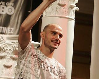 Pavlik Martinez weigh-in Atlantic City.