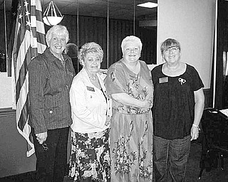 All decked out: Warren Republican Women's Club has all the decks out and is ready to host a card party from 6:30 to 8:30 p.m. Thursday at Christ Episcopal Church, 2627 Atlantic St. N.E., Warren. Tickets, $7, include lunch and can be purchased for any member of at the door. Proceeds will be used to sponsor a high school girl or girls to Girl's State this summer. Among those serving on the planning committee for the fundraiser are, from left, Paula Synder, Mary Theis, chairwoman; Cary Ann Koren; and Gail Drushel.