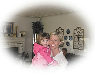 Audry Ohl of Austintown and her daughter, Sadie.