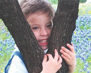 Andrew Pietsch, 2 1/2, of San Antonio, Texas, is the grandson of Joe and Linda Pagano of Girard.