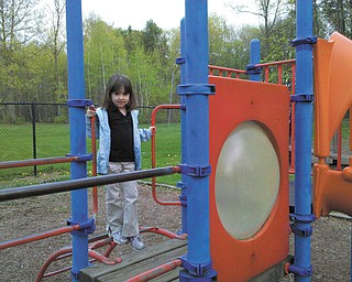Marissa Taneri from Sharon, Pa., at Buhl Park.