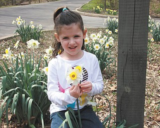 Lily Vari-Coppola of Lowellville visited the lily pond in Mill Creek Park last month. The photo was taken by her mom, Jodi.