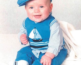 This is Colin Simerlink, 20-week-old son of Justin and Farra Simerlink of Boardman.