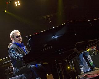 LISA-ANN ISHIHARA | THE VINDICATOR..Elton John performs at Covelli Centre, Saturday May 1, 2010