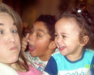 Monica Proctor, with her children, Paul and Hannah, says to be unafraid to show your silly side. It gets the best and most rewarding laughter, especially when the kids join in too!