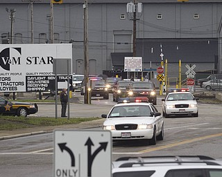 LISA-ANN ISHIHARA | THE VINDICATOR...POTUS Motorcade leaves V&M Star.