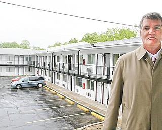 C.A.P. Development LLC, a nonprofi t company run by Randall Cash, is refurbishing Knights Inn in.Liberty for transitional housing for veterans.