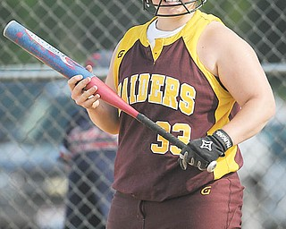 South Range senior Laura Biroschak is the Raiders' leadoff batter and has a .322 batting average. In her fourth varsity season, she'll be playing in her first regional tournament game on Wednesday.